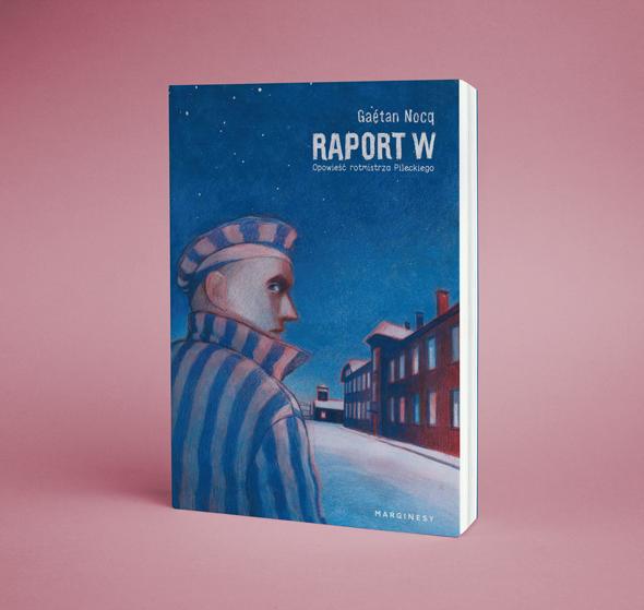 """Recenzje #168 - """"Raport W"""" - okładka komiksu - Francuski przy kawie"""
